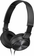 Zwarte Sony MDR-ZX310APB sport koptelefoon