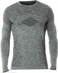 Iron-ic Sportshirt Heren Polypropyleen/polyester Grijs Mt S/m