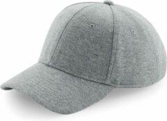 Bagbase Senvi Jersey Athleisure Baseball Cap - Kleur: Grijs Melee