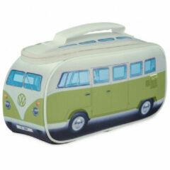 VW Collection - VW T1 Bus Brotzeittasche - Voedselbewaring maat 30 x 15 x 12 cm, grijs/groen