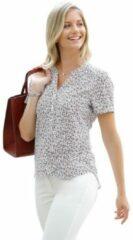 Naturelkleurige Classic Inspirationen gedessineerde blouse