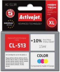 Rode Activejet AC-513R inktcartridge Compatibel Cyaan, Magenta, Geel 1 stuk(s)