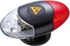 Zwarte Topeak helm led HeadLux
