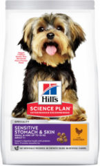 Hill's Canine Adult Sensitive Stomach & Skin Small & Mini - Hondenvoer - Kip 2.5 kg