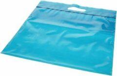 PacklinQ Draagtassen Plastic Blauw 22.9x8.2x18.4cm 75 Micron (100 stuks)
