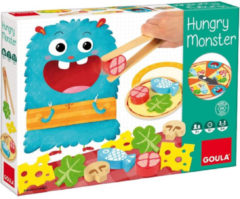 Goula kinderspel Hungry Monster junior hout/vilt 27-delig
