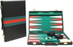 Hotsports Hot Sports Backgammon Koffer Zwart 38x24