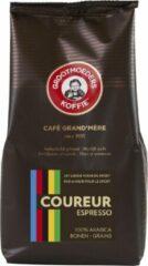 Grootmoeders Koffie | Coureur Espresso Bonen 500g | 100% Arabica