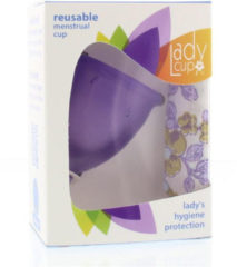Ladycup Menstruatie Cup Lilac Maat L (1st)