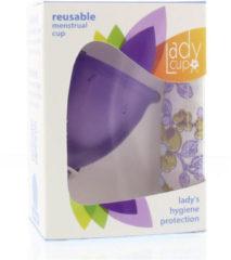 Ladycup Menstruatie cup lilac maat L 1 Stuks