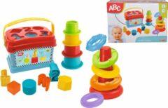 Blauwe Simba-Dickie ABC Baby Speelset Vormenstoof