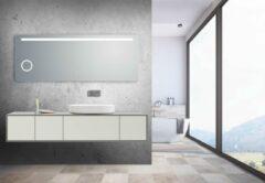 Vips Badkamerspiegel 160x60cm met led verlichting, vergroot glas en anti-condens functie