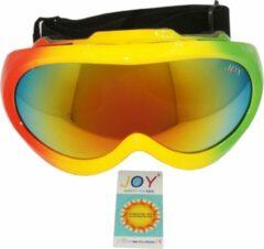 Groene Joy Kids Teton Kids TPU Ultra-Light frame. DUBBEL layer lens. Ski/Snowboard Goggle