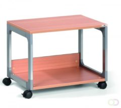 Durable SYSTEEM MULTI TROLLEY 48 3710124 Metallic-zilver, Beuken (b x h x d) 600 x 477 x 432 mm