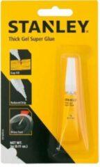 STANLEY Thick Gel Super Glue - Secondelijm - Lijm
