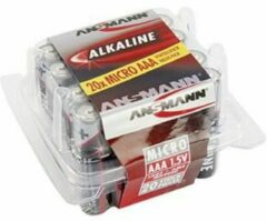 AAA batterij (potlood) Ansmann LR03 Red-Line Alkaline 1.5 V 20 stuk(s)