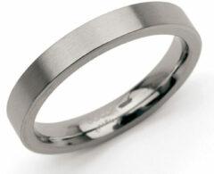 Zilveren Boccia Titanium Ring glad - 0120-03