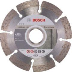 Bosch Diamanttrennscheibe Standard for Concrete, 115 x 2