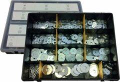 JBM Tools| Assortimentendoos set van 475 sluitringen | Set van ringen bevestigingsringen
