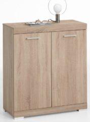FD Furniture Opbergkast Bristol 1 van 90 cm hoog in eiken