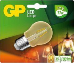 Witte Gp Filament-led Lamp Vintage Gold Mini-kogel 1,2w E27