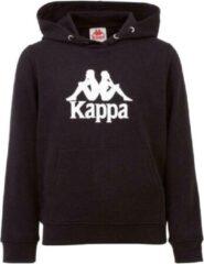 Kappa Taino Kids Hoodie 705322J-19-4006, Kinderen, Zwart, Sporttrui casual, maat: 176 EU