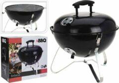 Tafelbarbecue Houtskool Bolvorm - Zwart