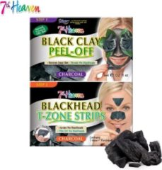 7th Heaven Peel Off Gezichtsmasker - Charcoal