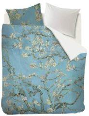 Beddinghouse x Van Gogh Museum Almond Blossom - Dekbedovertrek - 200x200/220 cm - Blauw