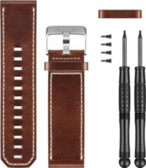 Garmin Ersatzarmband (braunes Leder) für Fenix 3