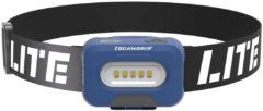 Blauwe Scangrip Lite A LED Hoofdlamp - Aan-/uit Sensor - Incl. batterijen
