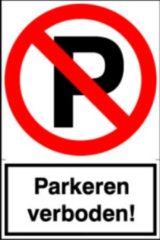 Artelli Sticker Parkeren verboden