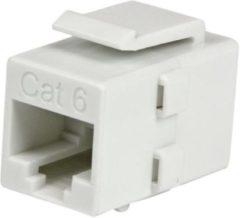StarTech.com Witte Cat 6 RJ45 Keystone jack-netwerkkoppeling F/F (C6KEYCOUPLWH)