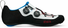 Zwarte Fizik Transiro Infinito R1 Knit Triathlon Schoenen, black/white Schoenmaat EU 41