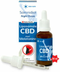 2x Neo-Cure Somnidiol Slaap Liposomale CBD&Melatonine 30 ml