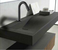 Merkloos / Sans marque Productgigant - Koudwaterkraan - Fonteinkraan - toiletkraan zwart