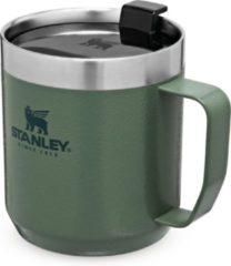 Groene Stanley PMI Stanley The Legendary Camp Mug 0,35L - Beker - Hammertone Green