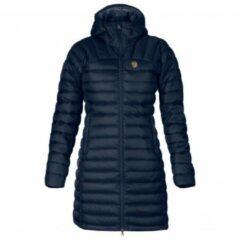 Fjällräven - Women's Snow Flake Parka - Lange jas maat XS, blauw/zwart
