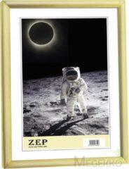 """Goudkleurige Zep - Kunststof Fotolijst """"""""New Easy"""""""" Goud Voor Foto Formaat 15x20 - Kg3"""