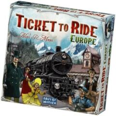 Indentity/University/PSGames Ticket To Ride Europe