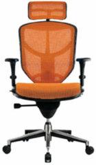 COMFORT Europe COMFORT bureaustoel Enjoy Classic (met hoofdsteun) - Oranje