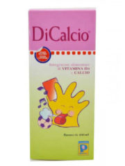 Pediatrica DiCalcio Sciroppo integratore alimentare di vitamina D3 e calcio 200ml