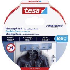 Witte Tesa 77747-00000-00 Industrial tape tesa® Powerbond White (L x W) 5 m x 19 mm 1 pc(s)