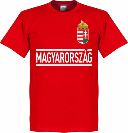 Afbeelding van Rode Retake Hongarije Team T-Shirt - XXL