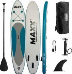 """Maxxoutdoor - Garda - 9'10"""" - Opblaasbaar SUP Board - 2021 - 300cm - 15PSI - Blauw"""