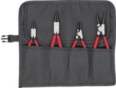 Precisie-borgveertang set Geschikt voor borgringen Binnen- en buitenringen 12-25 mm, 19-60 mm 10-25 mm, 19-60 mm Puntvorm Recht Knipex 00 19 56 V01