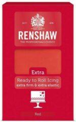 Rode Renshaw Rolfondant Extra Red -1kg