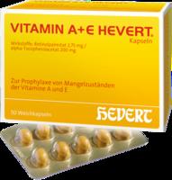 VITAMIN A+E Hevert Kapseln 50 St