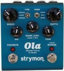 Strymon Ola dBucket Chorus & Vibrato - Analog Chorus / Vibrato - Blauw