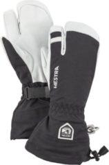 Hestra - Army Leather Heli Ski 3 Finger - Handschoenen maat 12, zwart/wit/grijs